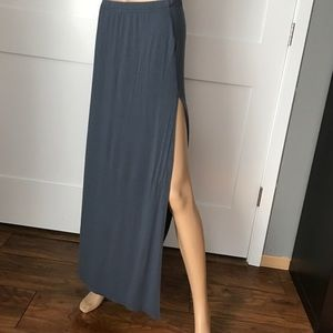 BB Dakota Slit Maxi Skirt